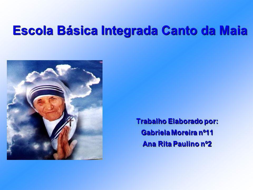 Índice 1.Capa 2.Índice 3. História da Madre Teresa de Calcutá 4.Imagens 5.Funeral