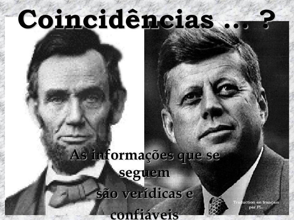 Coincidências … .