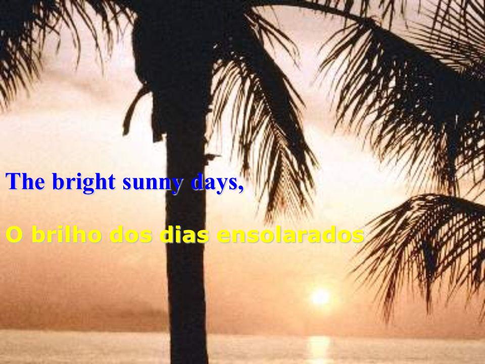 The bright sunny days, O brilho dos dias ensolarados
