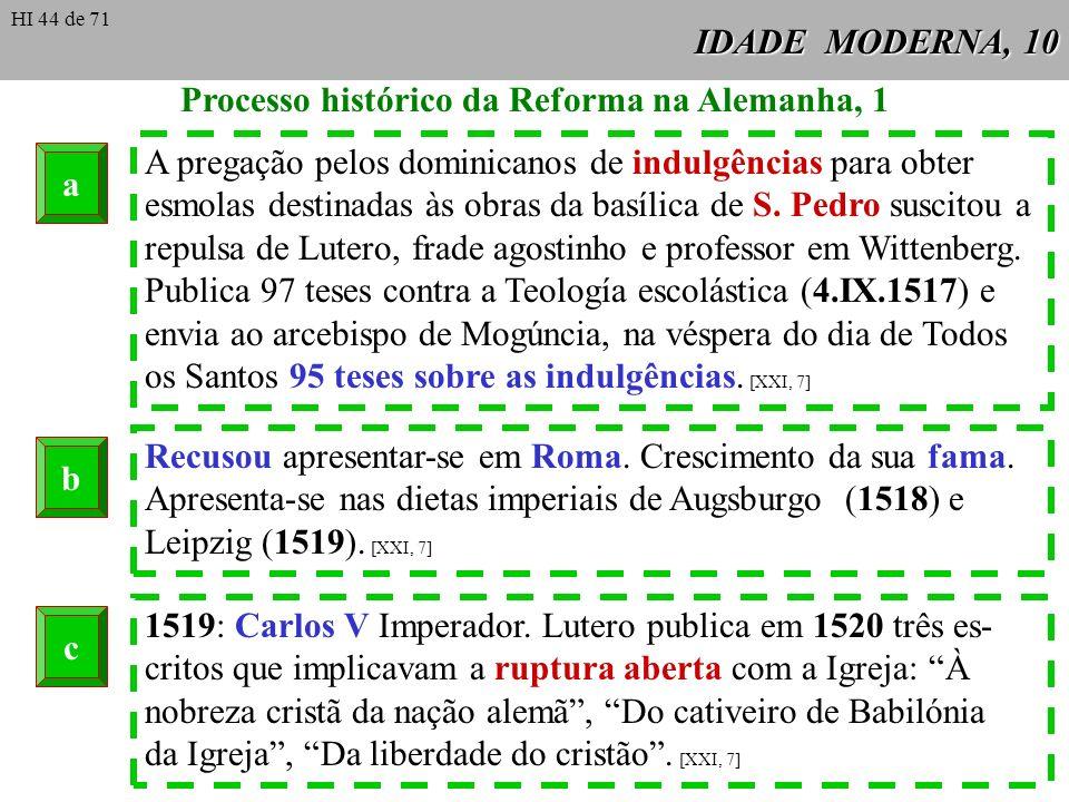 IDADE MODERNA, 10 Processo histórico da Reforma na Alemanha, 1 A pregação pelos dominicanos de indulgências para obter esmolas destinadas às obras da