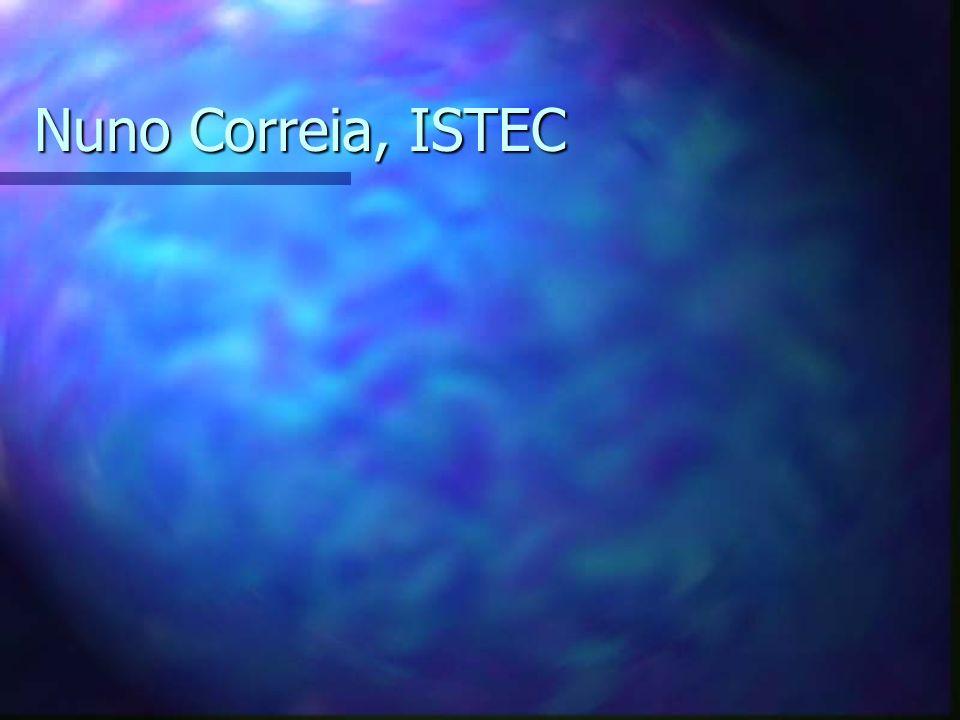 Nuno Correia, ISTEC