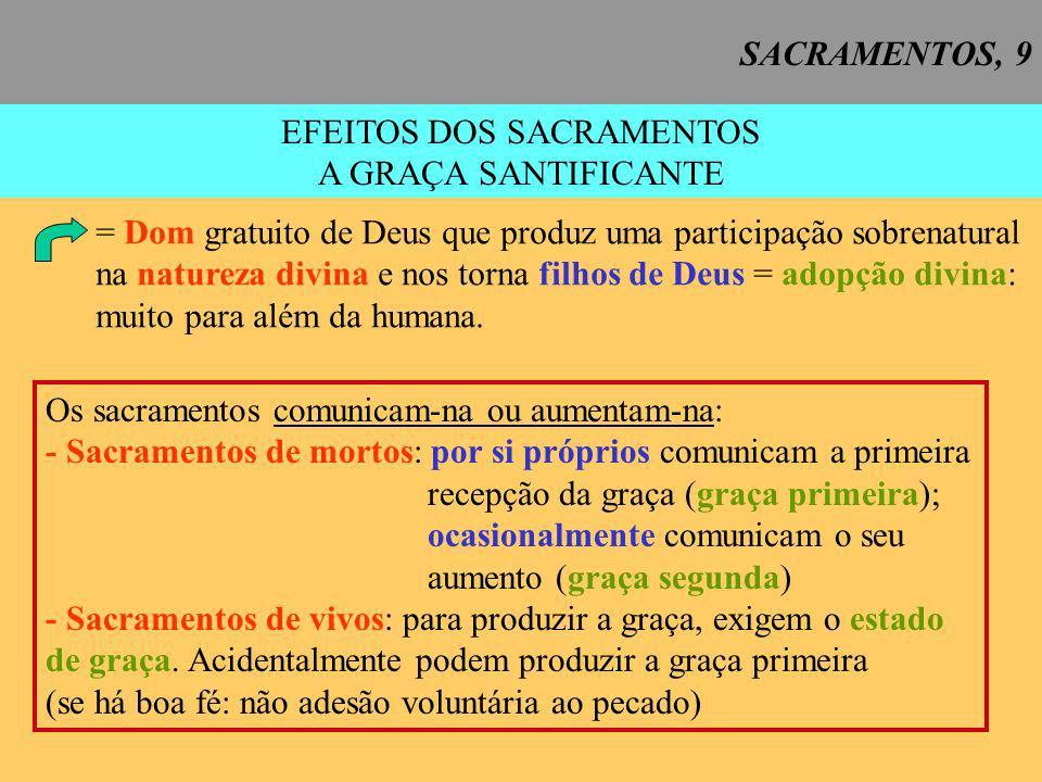 SACRAMENTOS, 10 EFEITOS DOS SACRAMENTOS A GRAÇA SACRAMENTAL CCE 1129 = a graça do Espírito Santo dada por Cristo e própria de cada sacramento (CCE 1129).