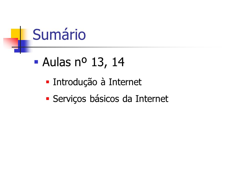 Endereços na Internet URL (Uniform Resource Locator) service: // : @ : / /...