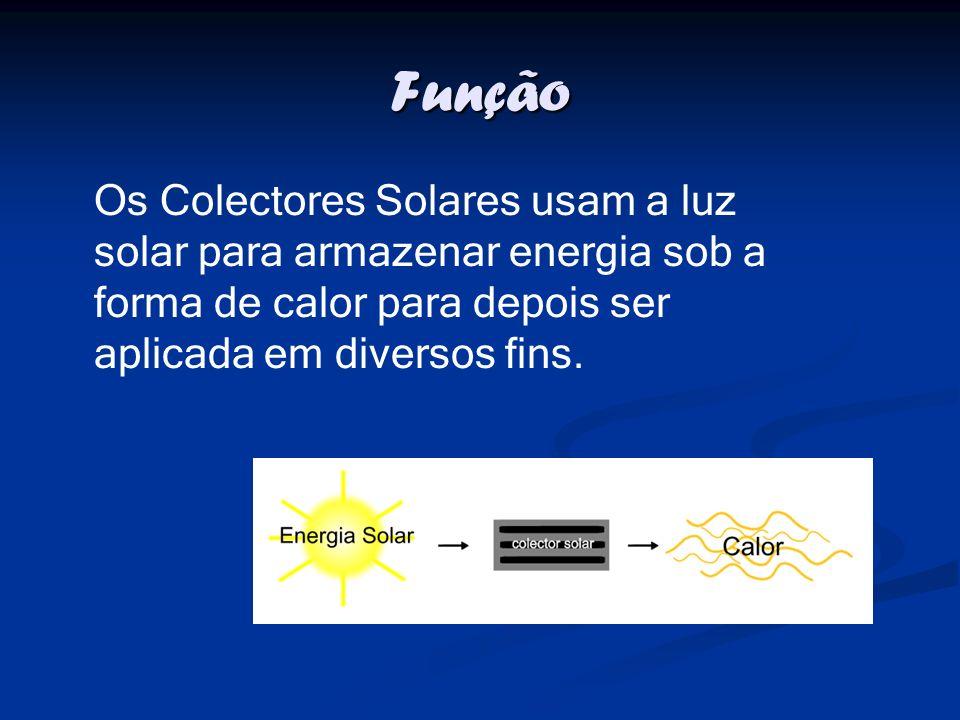 Quais os tipos de colectores solares.