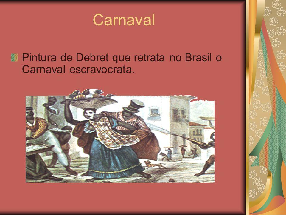 Escola de samba É a maior contribuição carioca para o Carnaval Brasileiro e espalhou-se por praticamente todo país.