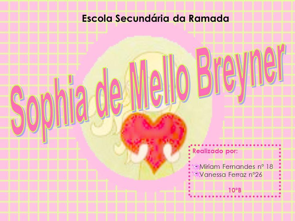 Escola Secundária da Ramada Realizado por: Miriam Fernandes nº 18 Vanessa Ferraz nº26 10ºB