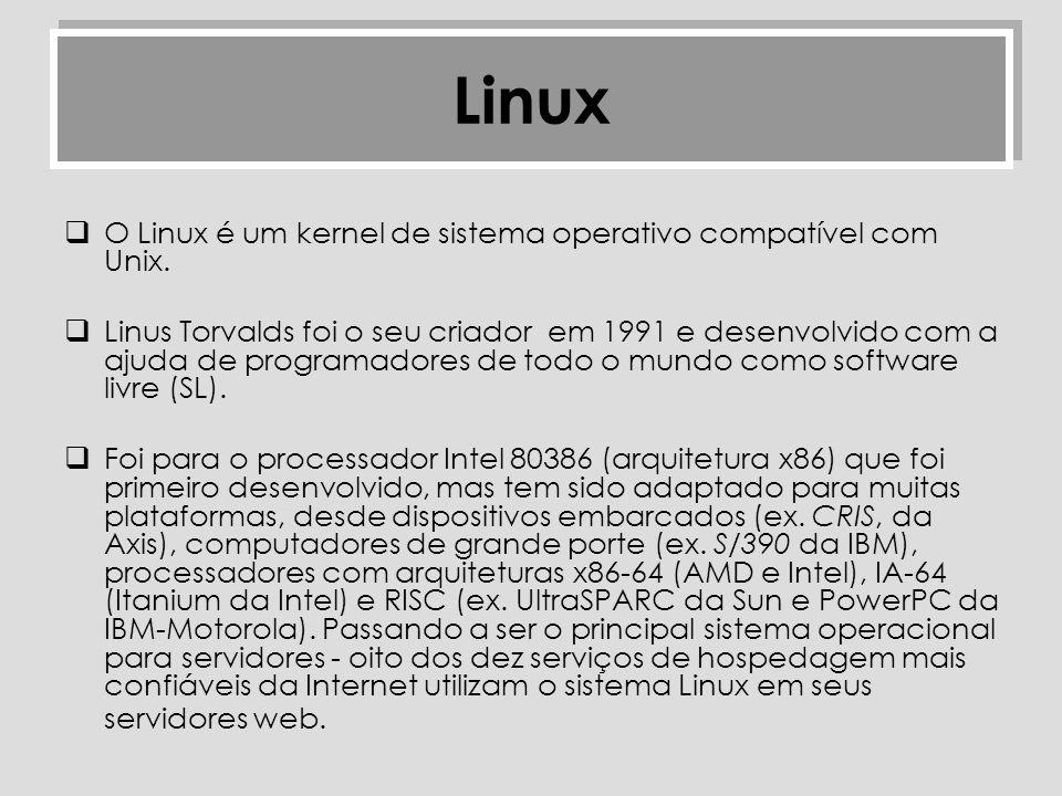 Versões Torvalds e sua equipa têm continuado a lançar novas versões, consolidando contribuições de outros programadores e introduzindo alterações suas.