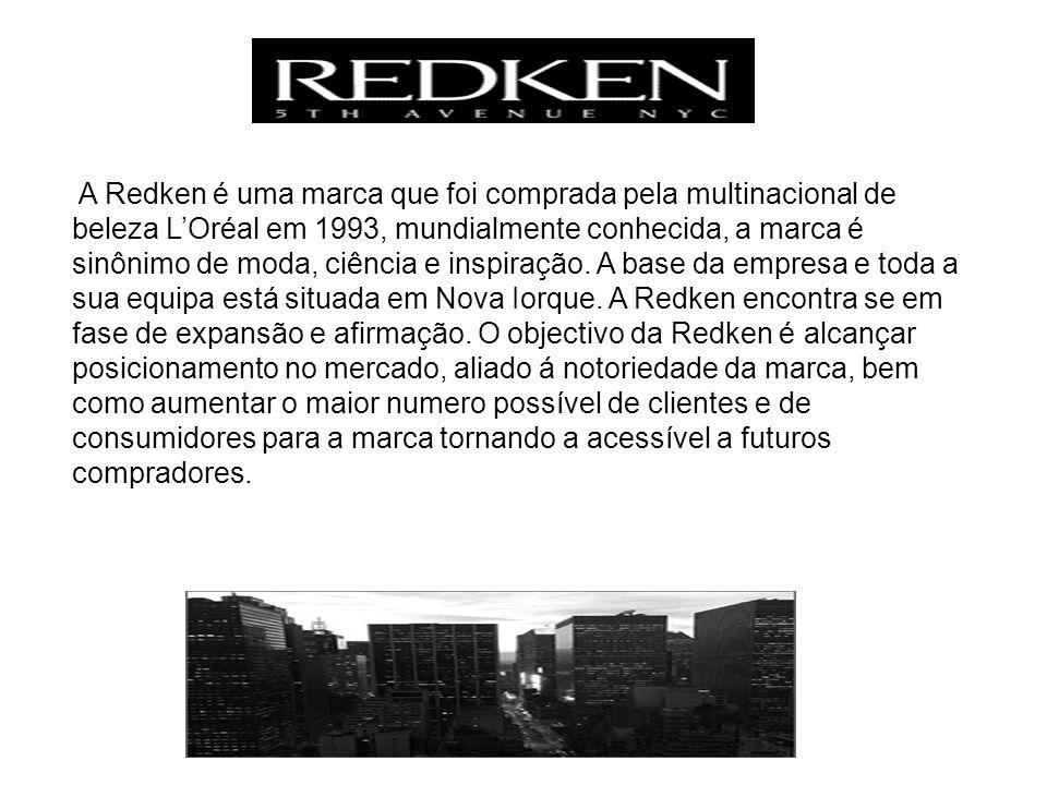 A Redken é uma marca que foi comprada pela multinacional de beleza LOréal em 1993, mundialmente conhecida, a marca é sinônimo de moda, ciência e inspiração.