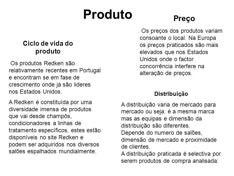 Os produtos Redken são relativamente recentes em Portugal e encontram se em fase de crescimento onde já são lideres nos Estados Unidos.