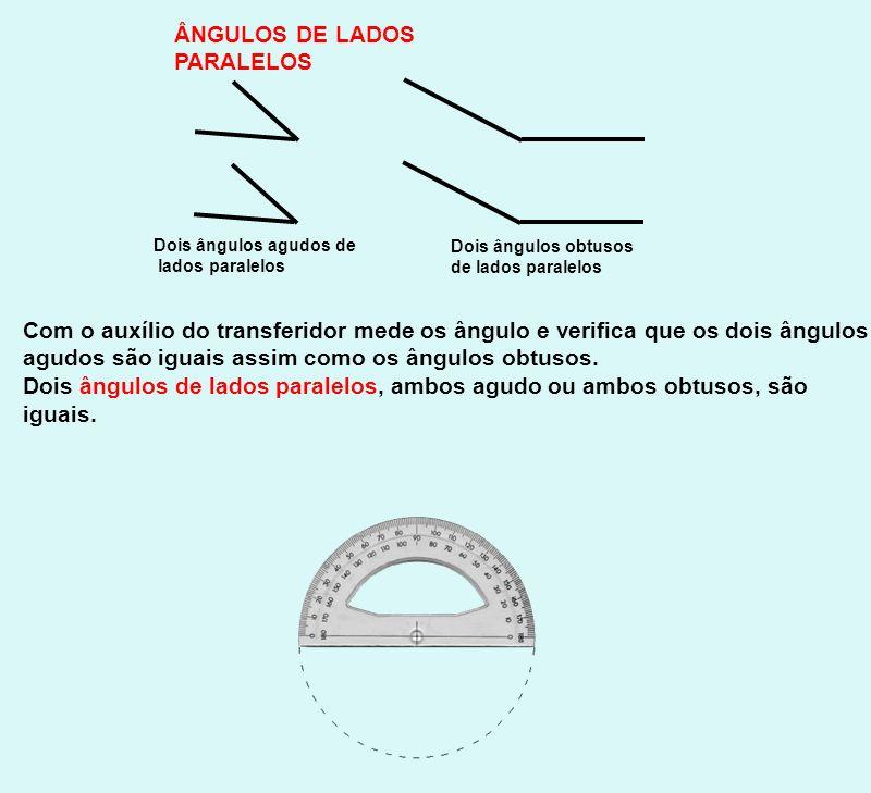 Exercício 1: Observa a figura onde AB//CD Indica: a) dois pares de ângulos agudos de lados paralelos b) dois ângulos complementares c) dois ângulos de lados paralelos suplementares d) dois ângulos verticalmente opostos A|A| B|B| C|C| D|D| E F __G __H