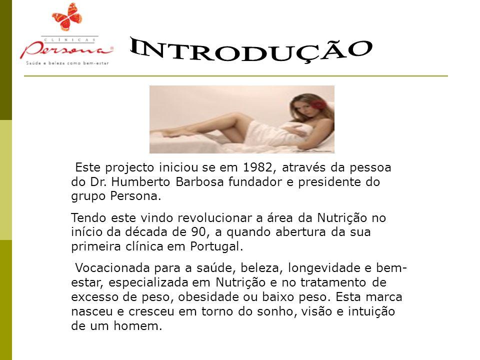 Este projecto iniciou se em 1982, através da pessoa do Dr. Humberto Barbosa fundador e presidente do grupo Persona. Tendo este vindo revolucionar a ár