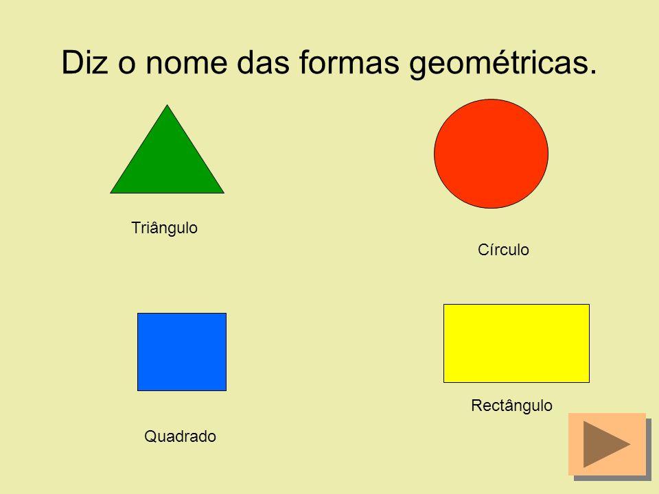 Agora que já conheces as formas geométricas queres jogar comigo? Então clica no meu chapéu.