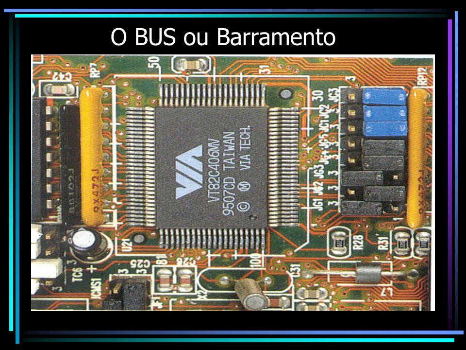 O BUS ou Barramento