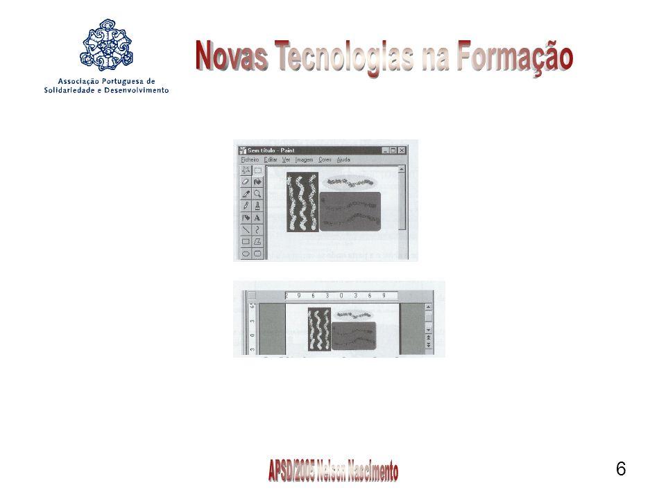 7 2º Processo: Aceda ao menu Inserir {Insert}, comando Imagem {Picture}, opção Do Ficheiro {From File}.