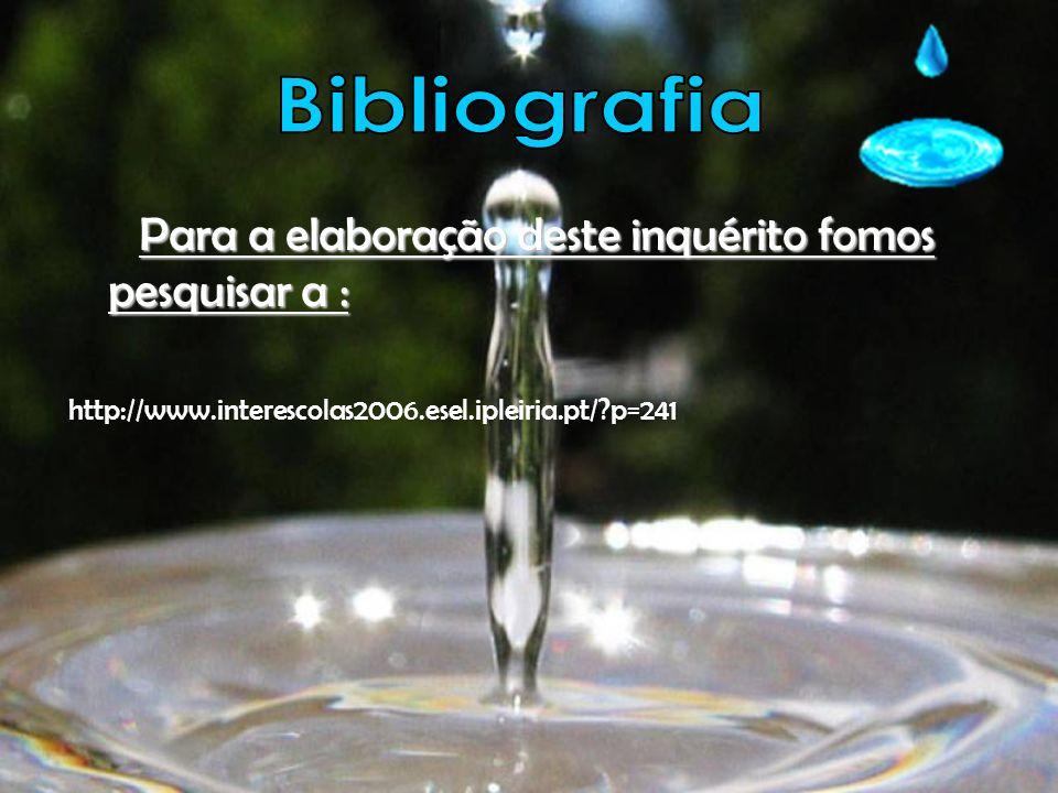 Para a elaboração deste inquérito fomos pesquisar a : Para a elaboração deste inquérito fomos pesquisar a : http://www.interescolas2006.esel.ipleiria.