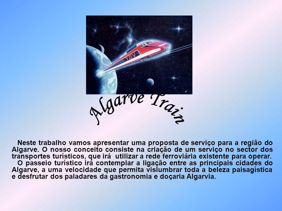 Neste trabalho vamos apresentar uma proposta de serviço para a região do Algarve. O nosso conceito consiste na criação de um serviço no sector dos tra