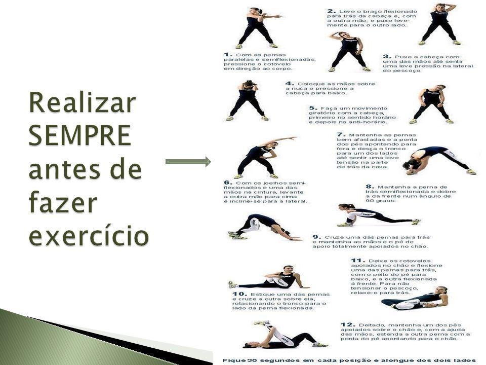 Se estiver a pensar em iniciar um programa de musculação, deverá começar por fazer algumas sessões experimentais com um profissional habilitado (treinador, fisioterapeuta, professor de educação física).