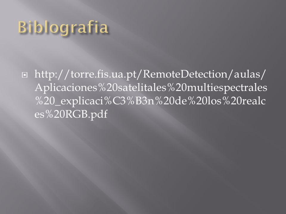 http://torre.fis.ua.pt/RemoteDetection/aulas/ Aplicaciones%20satelitales%20multiespectrales %20_explicaci%C3%B3n%20de%20los%20realc es%20RGB.pdf