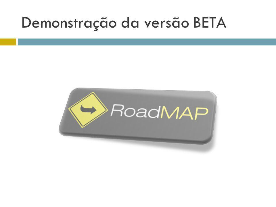 Demonstração da versão BETA