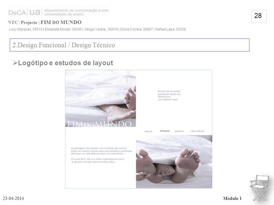 NTC | Projecto | FIM DO MUNDO Lucy Marques. 39515 | Elisabete Morais.