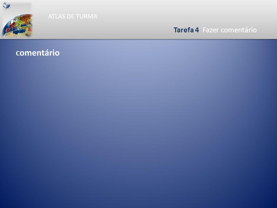 ATLAS DE TURMA Tarefa 3 Pintar o mapa da Densidade Populacional 0465930 Km N Hab / Km ² > 100 20 a 100 < 20