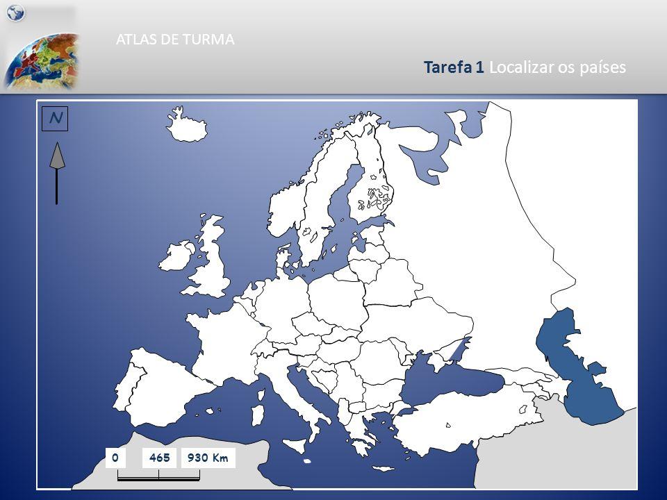 ATLAS DE TURMA Competências específicasTarefas 9. Elaborar o mapa da distribuição da Taxa de Mortalidade Infantil 9. Pintar o mapa da Taxa de Mortalid