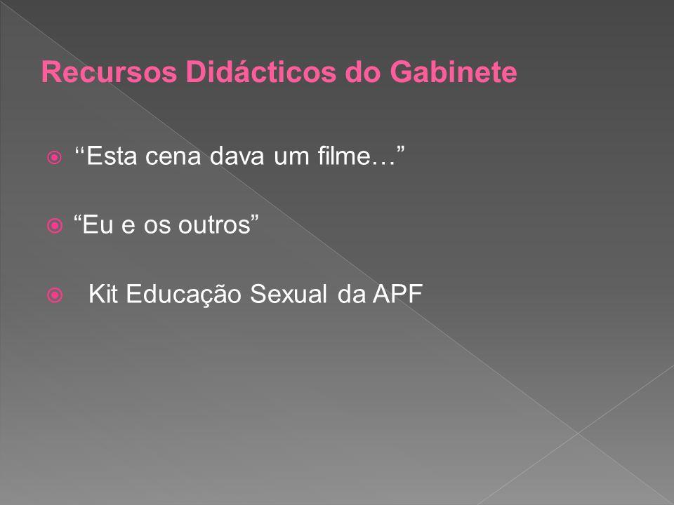 Esta cena dava um filme… Eu e os outros Kit Educação Sexual da APF