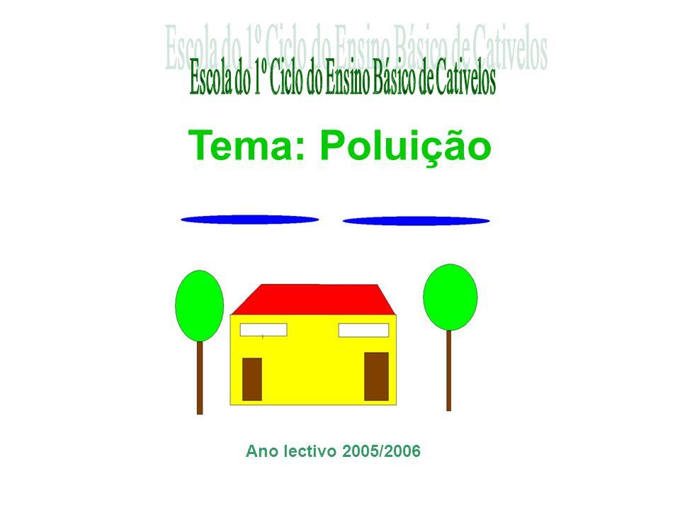 Tema: Poluição Ano lectivo 2005/2006
