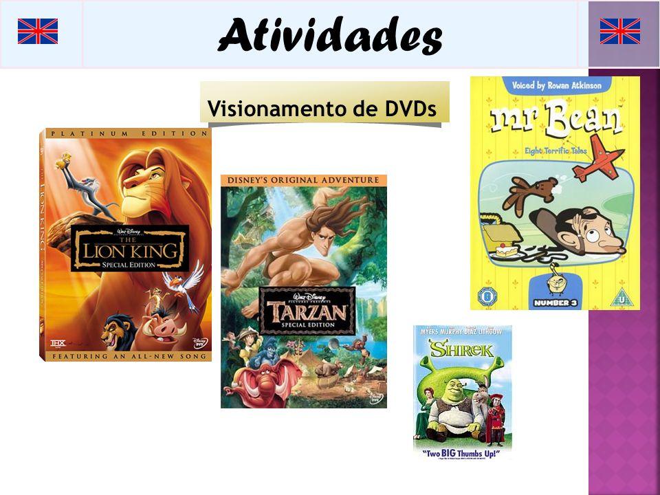 Atividades Visionamento de DVDs