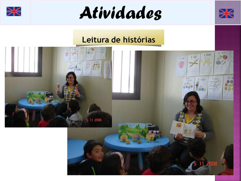 Atividades Leitura de histórias