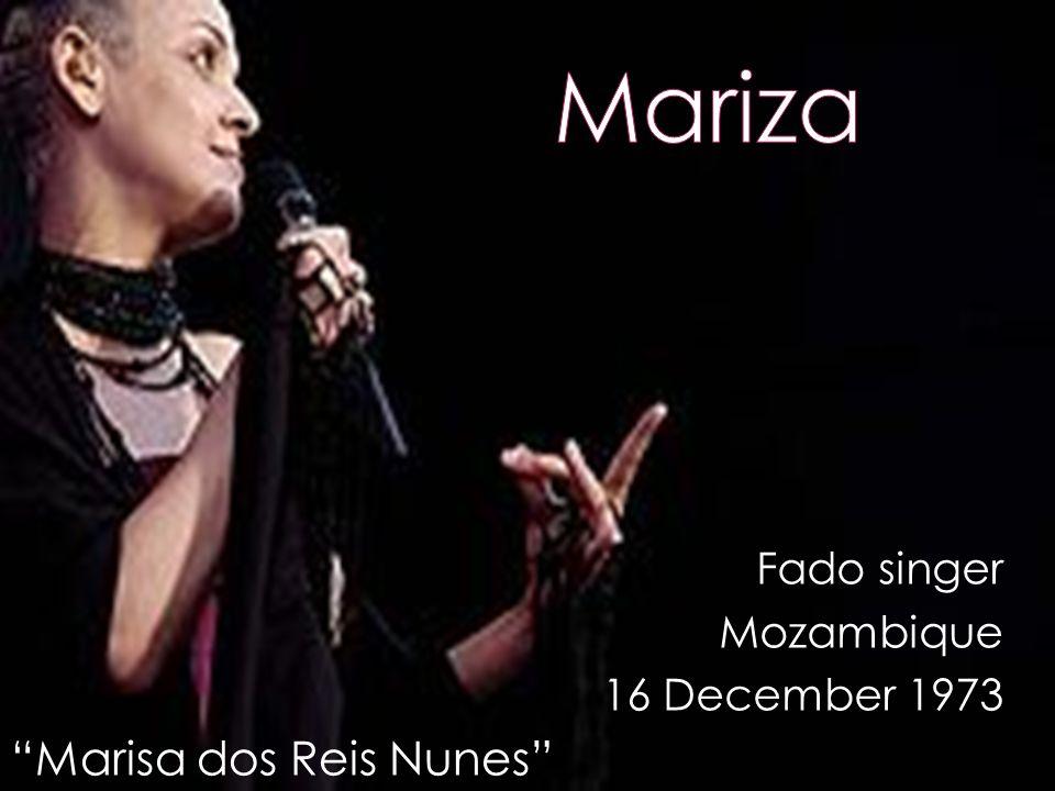 Fado singer Mozambique 16 December 1973 Marisa dos Reis Nunes
