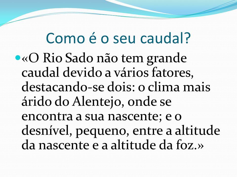 Como é o seu leito? É dos poucos rios portugueses que corre de sul para norte.