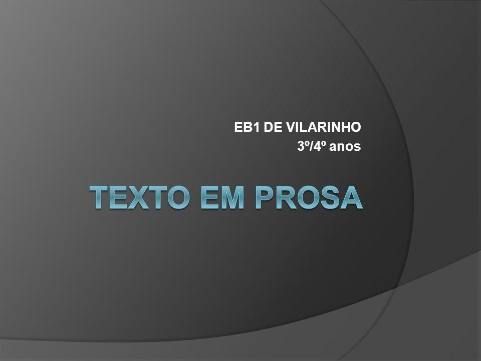 EB1 DE VILARINHO 3º/4º anos