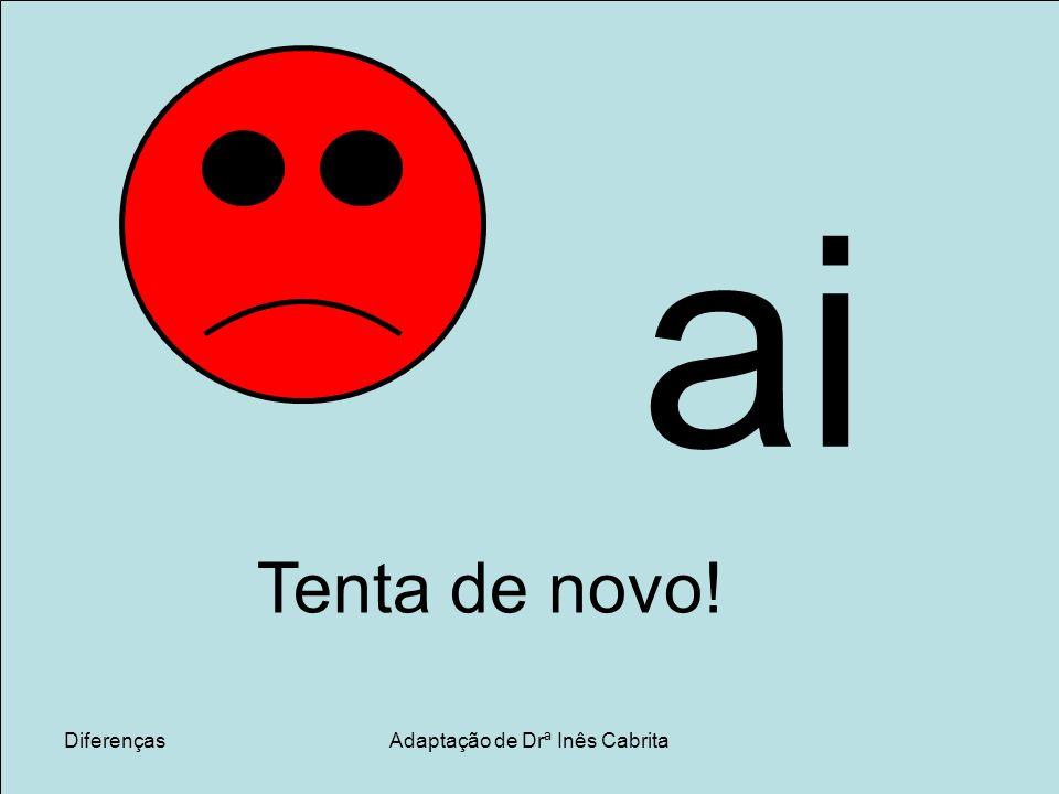 DiferençasAdaptação de Drª Inês Cabrita o i o i
