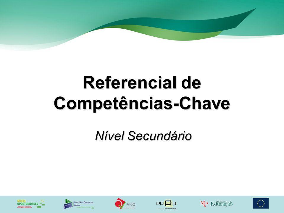 Referencial de Competências-Chave Nível Secundário
