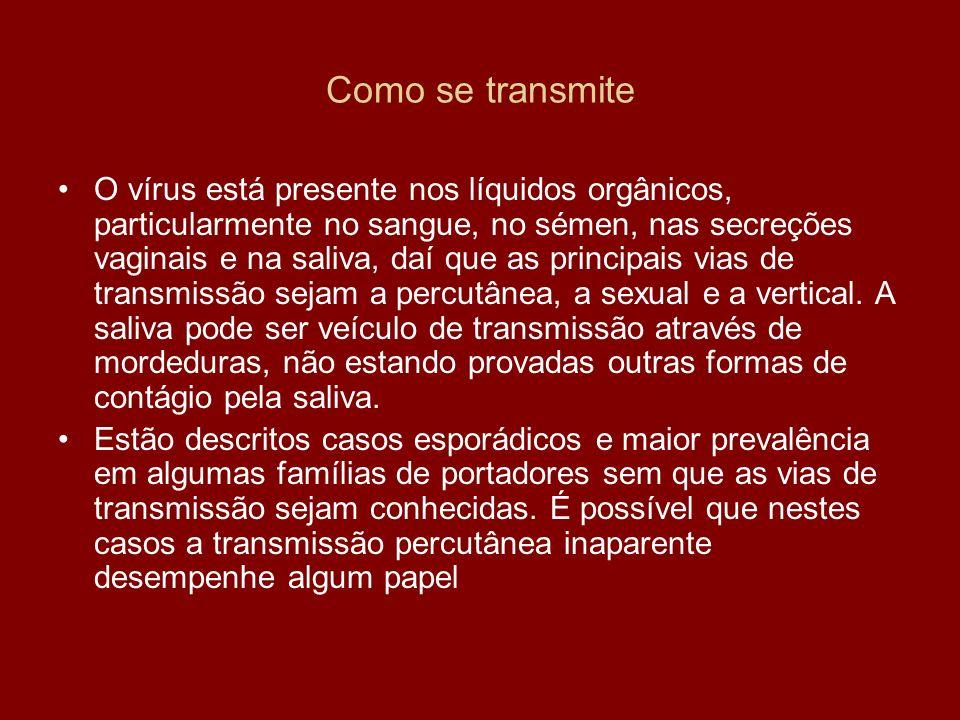 A rejeição de dádivas de sangue de indivíduos com serologia positivas para o VHB e dos com alterações das aminotransferases reduziu de forma drástica a incidência de casos de hepatite pós-transfusional.
