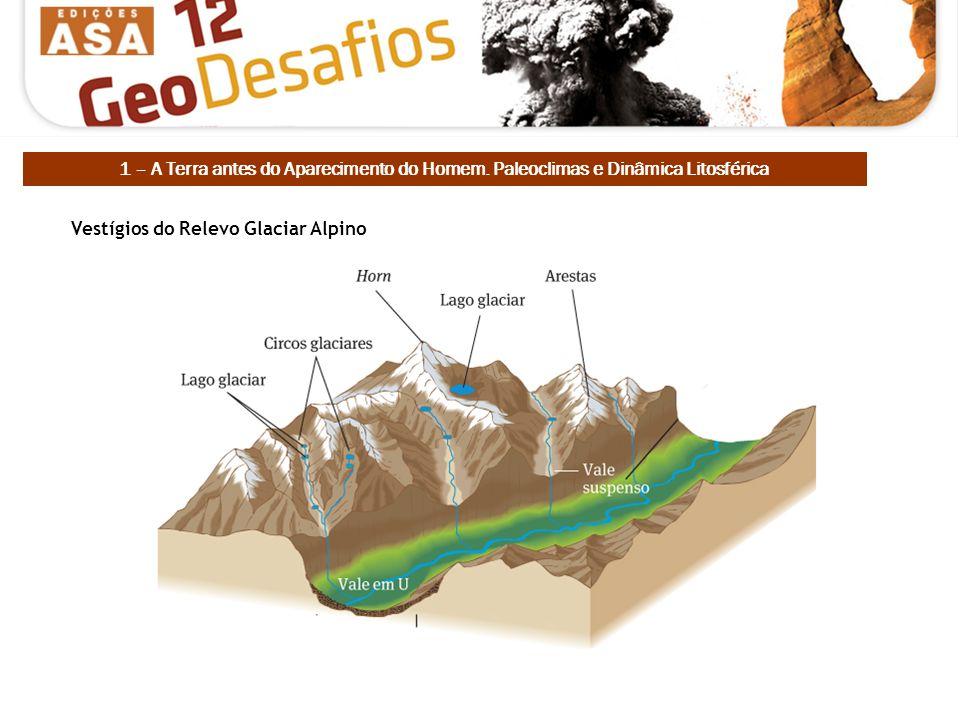 Vestígios do Relevo Glaciar Alpino 1 – A Terra antes do Aparecimento do Homem. Paleoclimas e Dinâmica Litosférica