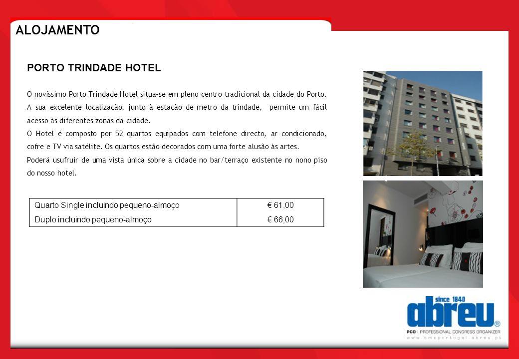 O novíssimo Porto Trindade Hotel situa-se em pleno centro tradicional da cidade do Porto. A sua excelente localização, junto à estação de metro da tri