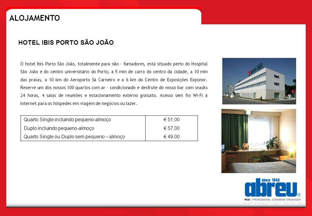 O hotel Ibis Porto São João, totalmente para não - fumadores, está situado perto do Hospital São João e do centro universitário do Porto, a 5 min de c