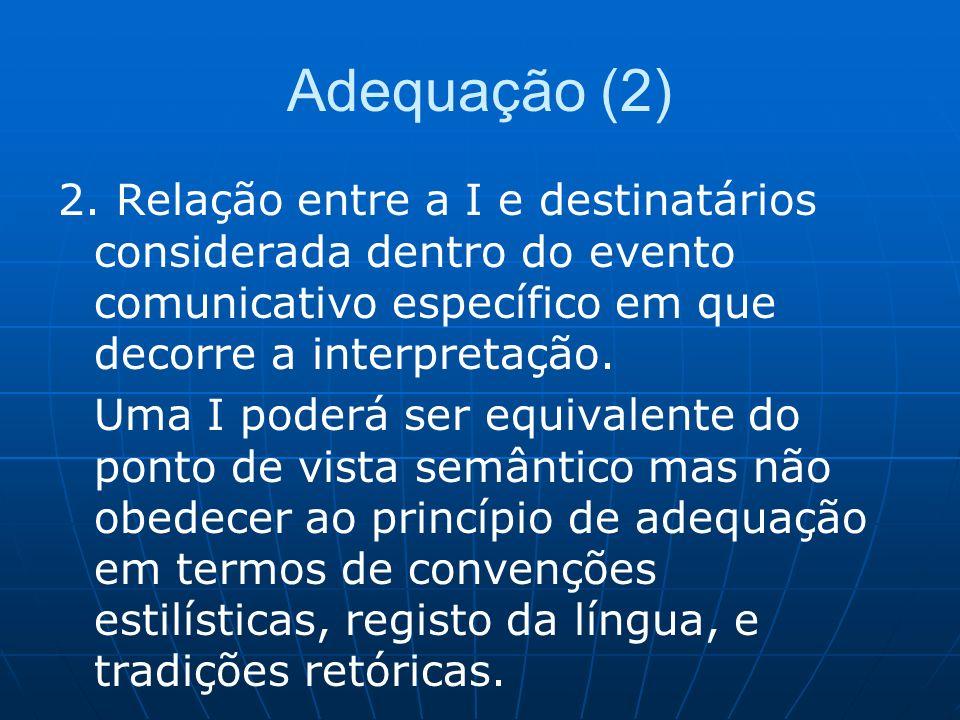 Adequação (2) 2.