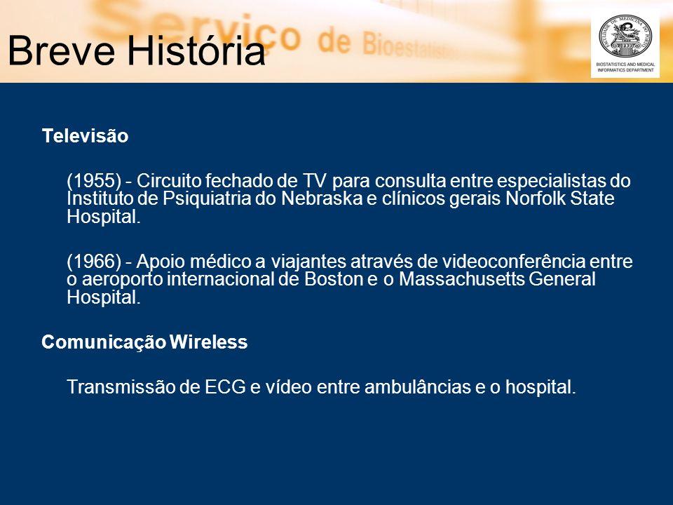 Breve História Televisão (1955) - Circuito fechado de TV para consulta entre especialistas do Instituto de Psiquiatria do Nebraska e clínicos gerais N