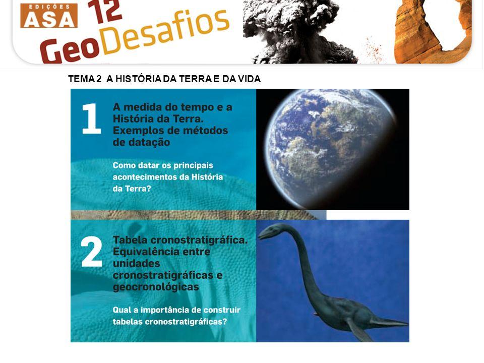 Tema 2 – A História da Terra e da Vida