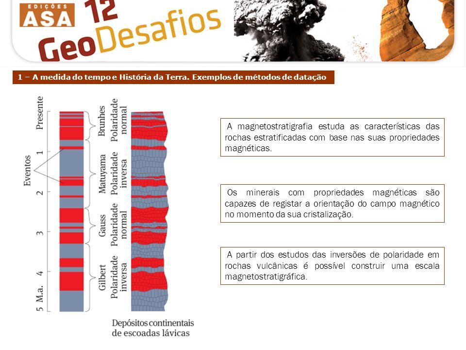 2 – Tabela Cronostratigráfica. Equivalência entre unidades cronostratigráficas e geocronológicas