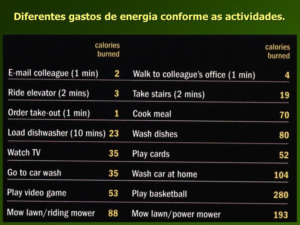 Capitação de Energia. Alguns dados comparativos.