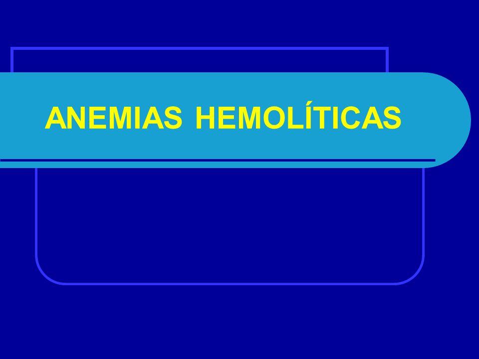 Classificação Etiopatogénica das Anemias : 1.Espoliativas 2.