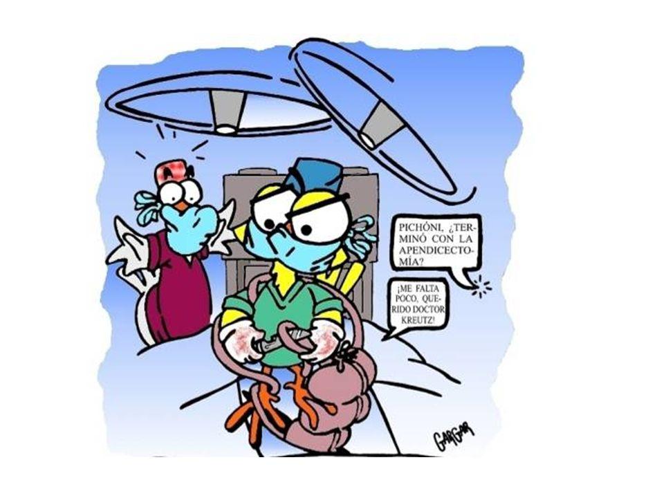 TRATAMENTO e PROGNÓSTICO Apendicectomia Cirurgia aberta ou laparoscópica Resultados e morbilidade iguais Laparoscópica: - Desvantagem: maior tempo cir