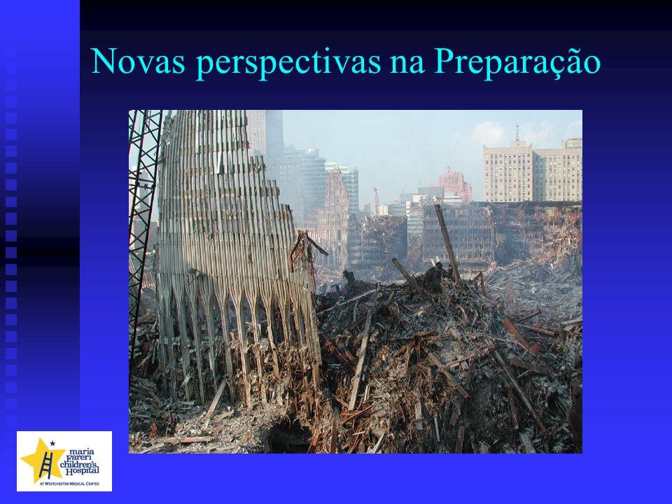 Mas as catástrofes naturais sempre tornaram necessária a preparação para emergências