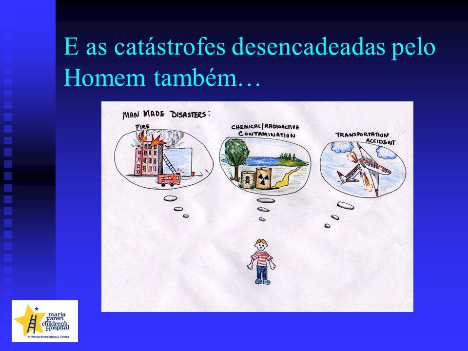 Recursos Federais e Estatais Questões Pediátricas EMAD (Equipas Médicas de Assistência aos Desastres)EMAD (Equipas Médicas de Assistência aos Desastres) Sem requisitos pediátricosSem requisitos pediátricos Equipa, fármacos, equipamentoEquipa, fármacos, equipamento 2 equipas pediátricas auto-certificadas2 equipas pediátricas auto-certificadas MRC (Corpo de Reserva Médico)MRC (Corpo de Reserva Médico) Competência pediátrica não definidaCompetência pediátrica não definida