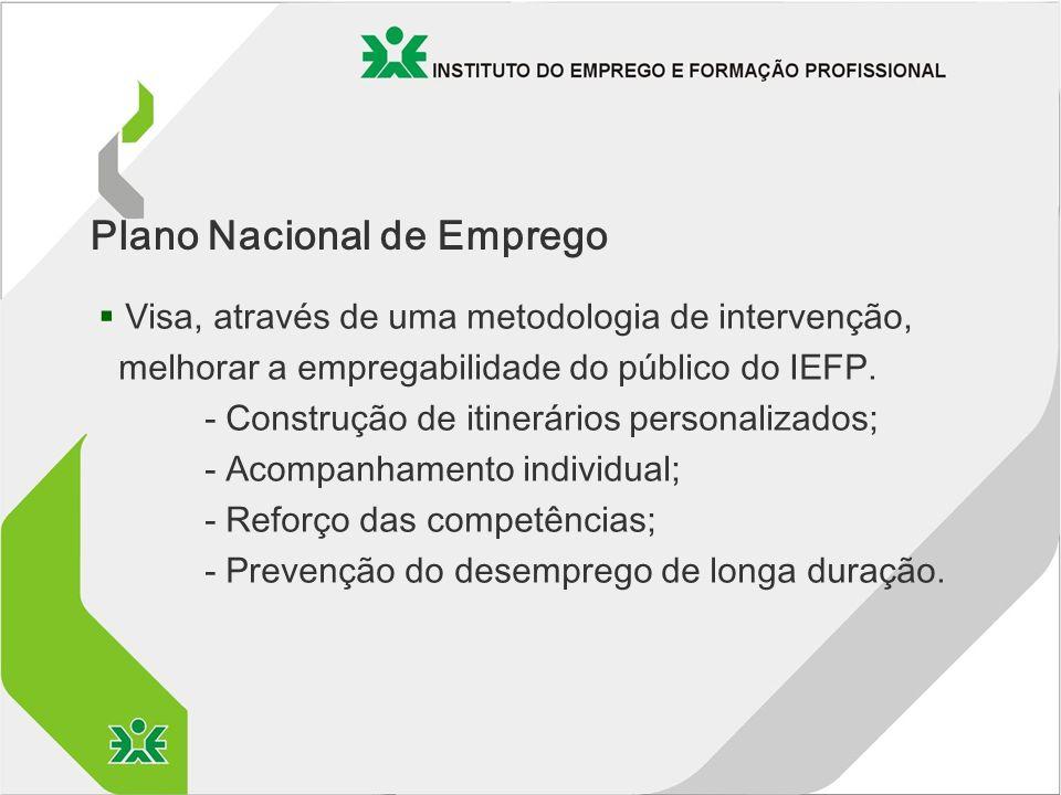 § Visa, através de uma metodologia de intervenção, melhorar a empregabilidade do público do IEFP.