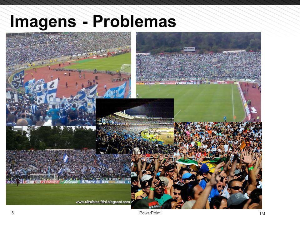 8 TM PowerPoint Imagens - Problemas